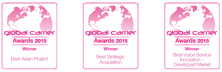 Global Carrier Awards 2015 Wins