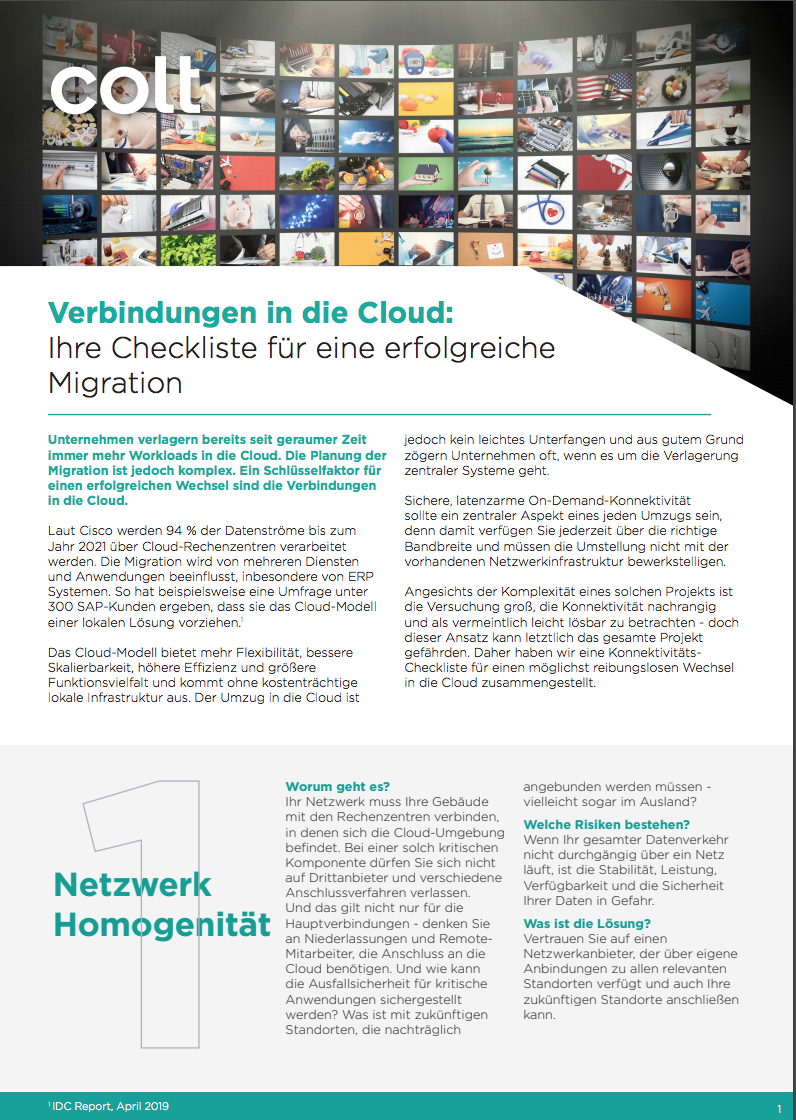 DE Cloud preview