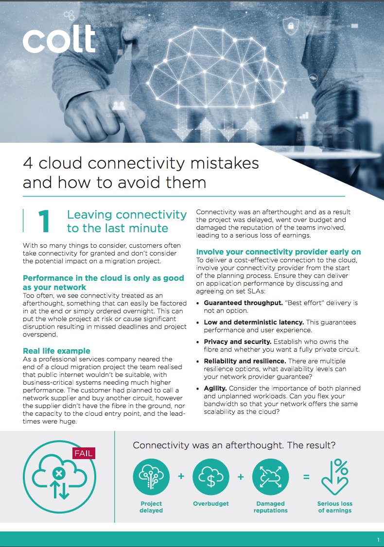 4 Cloud mistakes preview