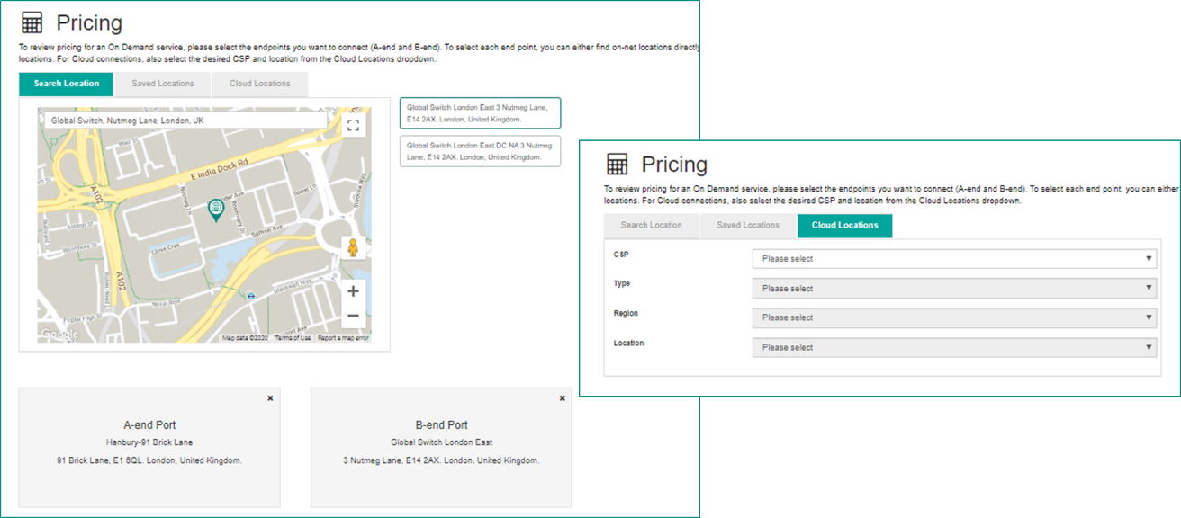 On Demand Pricing Tool