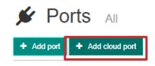 On Demand Quick Start Guide - Cloud Port